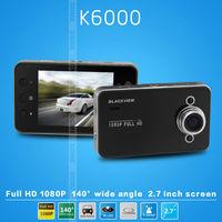 K6000 Car DVR Novatek Chipset Car Video Recorder FHD 1920*1080P 25FPS 2.7 inch TFT Screen  Registrator Car Camera