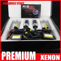 Quick Start 70W 75W Slim Ballast HID xenon conversion kit Fast Bright H1 H3 H4 H7 H8 H11 9004 9005 HB3 HB4 9006 9007 880 881 D2S