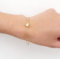Sunshine jewelry store fashion heart bracelet S001 ( $10 free shipping )