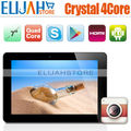 In Stock New Ainol Novo7 Crystal Quad Core Tablet PC 7'' Capacitive screen ATM7029 Core A9 1GB 8GB Android 4.1 HDMI Webcam WIFI