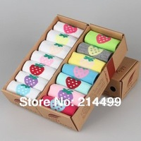 new 2013 autumn -summer socks lovers cotton sox Weekly 14pcs=7pairs/lot Shorts candy socks Gift Socks women and men sport socks