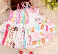 Baby Dress/100% cotton baby summer dresses Newborn-1 year/high quality/ very soft retail wholesale free shipping Honey Baby HB34