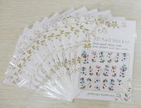 China Post Air Mail Free Shipping 3D Design Nail Art Sticker,Nail Art Seal ,Nail Art Decal 12packs per lot,various of design