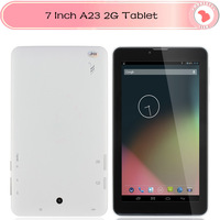 "Cheap Phone Call Tablet PC 7"" allwinner A23 2G GSM Capacitive Screen Android 4.2 Inbuilt Bluetooth Dual Camera  WIFI 512M 4GB"