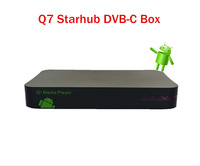 2pcs / lot  Original starhub box dvb cable receiver HD for Singapore starhub channels HD,EPL  free shipping