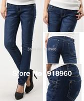New sale big size Denim Pants Women's jeans/XXL~4XL Ladies' Jeans Trousers/big Size waist 78~93cm pencil pants good quality/WTL