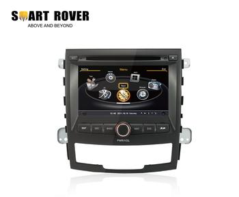 3G WiFi Car DVD Stereo Sat Navi Headunit For SSANGYONG KORANDO GPS Radio Bluetooth iPod, FREE Shipping+Map+Camera+WiFi Dongle