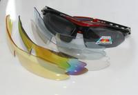 Golf Fishing 5 pcs Cycling Polarized Sunglasses Kit Bike Sports Eyewear Prescription uv lens Sun Glasses Eye Shades gafas oculos