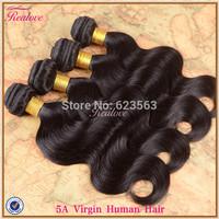 "Peruvian Virgin Hair Body Wave 4pc 8""-30"" human hair extension Peruvian Body Wave realove Hair Weaves Cheap Peruvian Hair cabelo"