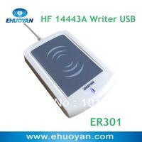 30% off sale 13.56Mhz ISO 14443  A  Rfid Writer USB ER301 + SDK+software eReader V4.2