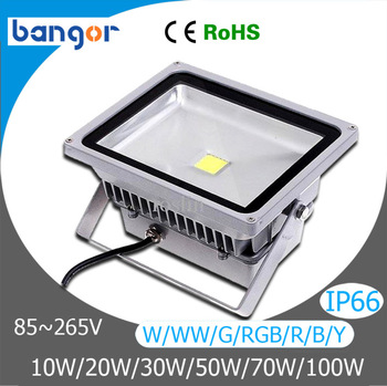 Free Shipping High Power Waterproof Outdoor Lighting LED Flood Lamp 10w 20w 30W 50W 70W 100W LED Flood Light