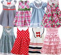 2014 Retail(Choice Designs)Hot Selling Cotton Princess Dresses/ Girls' Dresses Children's Clothing Dresses
