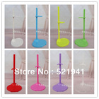 Free shipping, 20pcs/lot hot selling Doll Stand Display Holder For Barbie Dolls/Monster High dolls(China (Mainland))