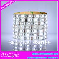 5050-RGB-LED-Strip 16.4FT SMD Led Strip Waterproof 300LEDs RGB Flexible LED Strip Light Lamp , Led tape for christmas