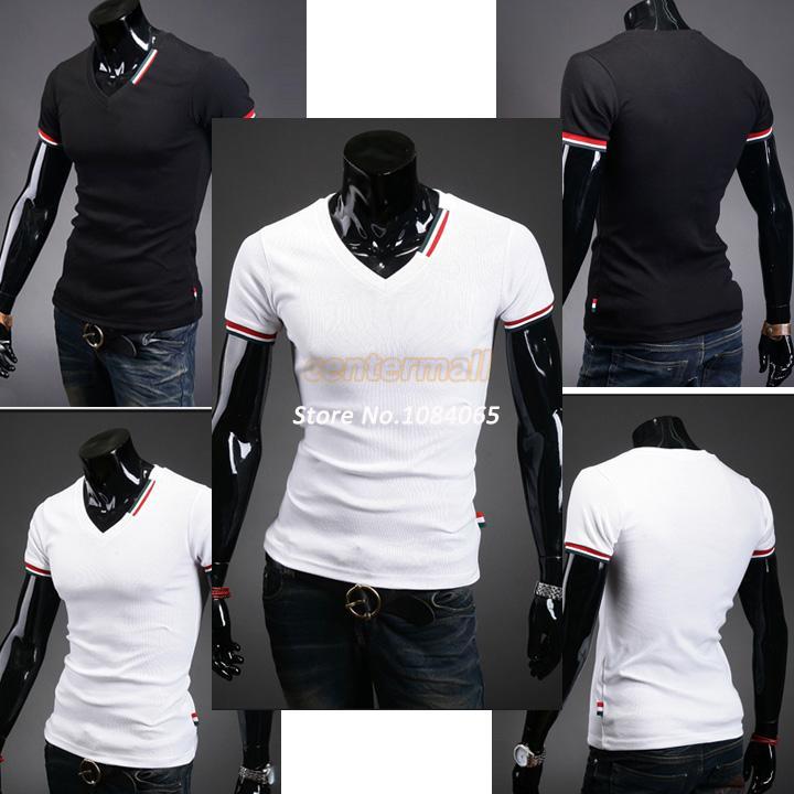 Мужская футболка Brand New#C_M v/slim Fit t b7 16532 16532#C_M футболка wearcraft premium slim fit printio акула