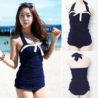 HOT !2014 Fashion Women Sexy Piece Swimmsuit Bandage Bikini Set Push up Padded Bra Bikini Swim Suit Swimwear b7 SV004463