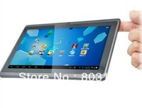 7&quot; Capacitive Screen Android 4.0  Allwinner A13 WiFi Camera 512M 4GB Tablet pc Q88 Good Battery