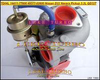 Wholesale New TD04L 14411-7T600 49377-02600 4937702600 Turbo Turbocharger For Nissan Navara Pickup TD27 NS25 3.2L QD32 QD32T