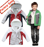 Retail And Wholesale New Fashion Excellent Fine Cotton Jacket Children's Outerwear[iso-12-8-12-A3]