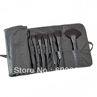 Big Discount ! 32pcs 32 pcs Cosmetic Facial Make up Brush Kit Makeup Brushes Tools Set + Black Leather Case ,Free Shipping