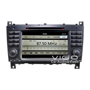 Car Stereo GPS Navigation for Mercedes Benz C-Class W203 C230 C240 C280 CLC DVD Player Multimedia Headunit Autoradio Bluetooth