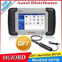 2014 Universal Professional Scan tool AUTEL MaxiDAS DS708 AUTO SCANNER Update online 5 version