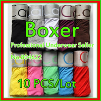 10 Pcs/Lot Hot Sales Wide Band Men's Boxer Short, High Quality Men's Modal underwear, Free shipping Welcome Drop shipping  AB-20
