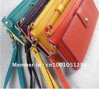 ladies' PU Hand bag, fashion handbag,clutch bag, 8 colors Free shipping wallet handbags cardbags purse free shipping