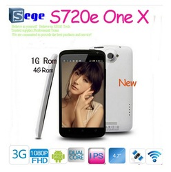 4.7 inch HD screen Android 4.0 ICS Phone MTK6577 One X S720e WCDMA 3G WiFi GPS Dual Camera 32G rom 1GB RAM dual core 1.5GHZ cpu(China (Mainland))