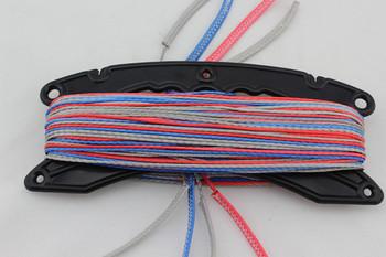 Free Shipping 4 linesx25m 450lb SL Dyneema fiber kite line set for kiteboarding kite bar repair