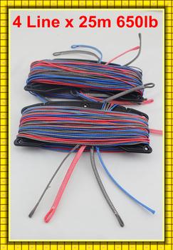 Free Freight Quad Lines 25m 650lb UHMWPE kitesurfing line set manufacturer