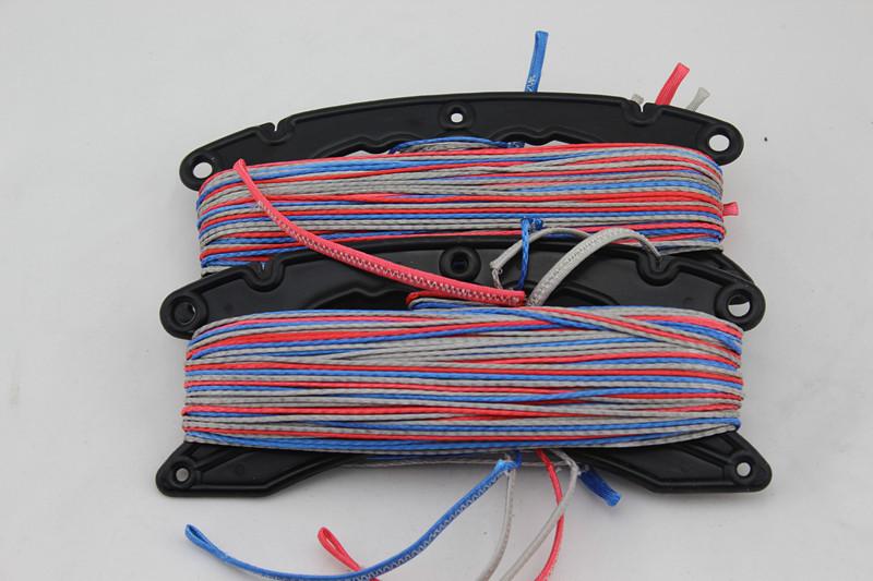 Free Freight Quad Lines 25m 650lb SL Dyneema fiber kitesurfing line set manufacturer