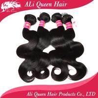 Free shipping brazilian virgin body wave hair extenstions, top grade mixed length 4pcs lot brazilian body wave