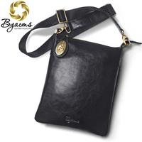 BOSTANTEN 2014 new mens fashion Cowhide Genuine leather small messenger bag shoulder bag for men