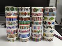 1459! new patterns japanese rice tape, DIY adhesive paper tape, scrapbooking sticker 45pcs/Lot