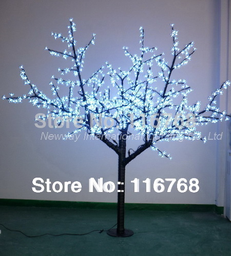 Discounted Novelty Items 2M artificial tree Light outdoor lighting LED Cherry Tree for parks garden(China (Mainland))
