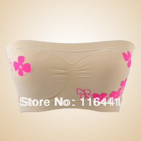 Hot sale!!! Free shipping lady's sexy Seamless wrapped chest beautiful women's underwear bra top