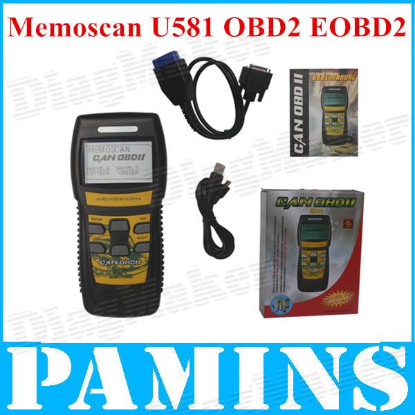 2014 universal memoscan u581 code-leser scan-tools automobil obd2 scanner auto obd 2 ii can-bus obdii profi auto scaner