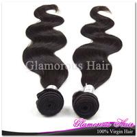 Retail 1pc lot brazilian body wave hair product ,virgin brazilian hair weft 12''-34''
