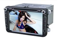 Volkswagen Passat/Golf/Tiguan Special Car DVD Player+WIFI Function+IPOD+GPS Navigation+FM/AM Radio+Bluetooth+AUX function