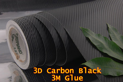 High Quality carbon 150cm*30cm 3D carbon fiber film(China (Mainland))