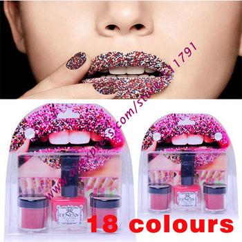 Free shipping caviar manicure nail polish, 2pots caviar pearl+1 pot nail polish per set