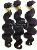 Grade AAAAA  Mix length 3pcs/lot Brazilian virgin hair,full head 3pcs cheap price fine quality, black color ,DHLfree shipping