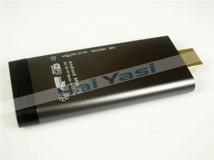 Free Shipping Hi705 Skype Camera Android TV Box Rockchip RK3188 Quad Core Dongle Mini PC 2GB/8GB WiFi Bluetooth Youtobe