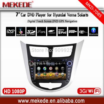 3g host+wifi+Special CAR DVD for Hyundai Verna/ Solaris /accent with CAR Radio  DVD,IPOD,GPS,ATV,BT all+MAP gift