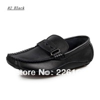 2013 Men Drivers Flats Shoes Fashion Design flats sapato shoes for men casual genuine leather ballet moccasins Penny Loafer