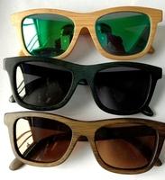 Sunglass men and women HD polarized Eco-friendly Fashion bamboo sun glasses wholesale and retail sunglasses women ready (ZA03)