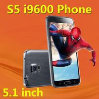 "New Arrive I9500 S4 MTK6589 Quad Core Real 5.0"" Screen Android 4.2 Eye control Air gesture 3G GPS Dual Camera galaxy Smart Phone"