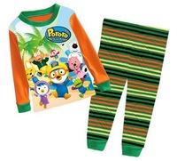 Girl's Christmas Long Sleeves Pyjama Set Boys' Holiday Season Sleep Set, 6 Sizes(2T-7T)/lot - GPA603/GPA611/GPA613/GPA922/GPA939