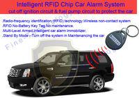free shipping RFID key anti-theft 12Voltage transponder immobiliser car alarms anti thief security
